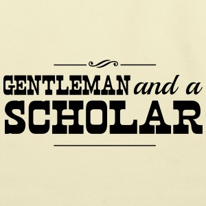 Gentleman and a Scholar T-Shirts - Eco-Friendly Cotton Tote