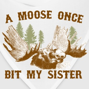 A moose once bit my sister Women's T-Shirts - Bandana