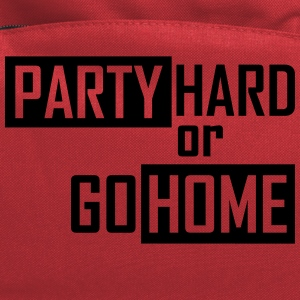 party hard or go home T-Shirts - Computer Backpack