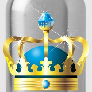 Crowns - Royalty - Royal - King - Queen Kids' Shirts - Water Bottle