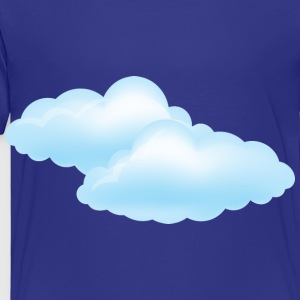Cloudy Day - Weather - Storm - Clouds Kids' Shirts - Toddler Premium T-Shirt