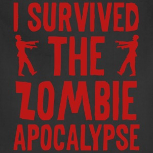 I Survived The Zombie Apocalypse - Adjustable Apron