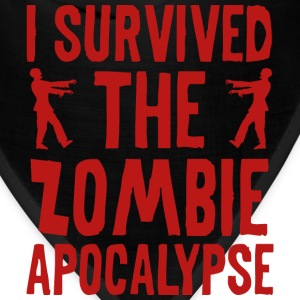 I Survived The Zombie Apocalypse - Bandana