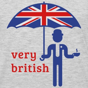 Very British (3C) T-Shirts - Men's Premium Long Sleeve T-Shirt