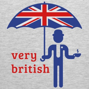 Very British (3C) T-Shirts - Men's Premium Tank