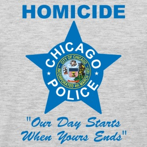 Chicago Police Homicide - Men's Premium Long Sleeve T-Shirt