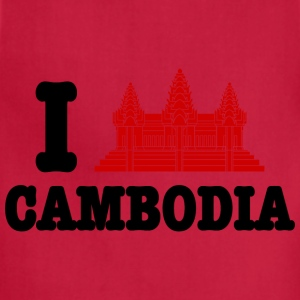 I Angkor (Love) Cambodia Kids' Shirts - Adjustable Apron