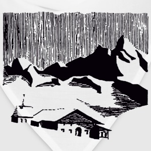 Mountain Village T-Shirts - Bandana