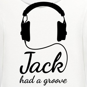 Jack had a groove headphones house techno Women's T-Shirts - Contrast Hoodie