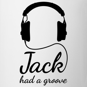 Jack had a groove headphones house techno Women's T-Shirts - Coffee/Tea Mug