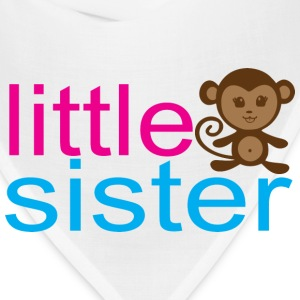 Little Sister - Monkey Baby & Toddler Shirts - Bandana