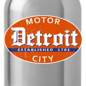 Vintage Detroit (distressed design) - Water Bottle