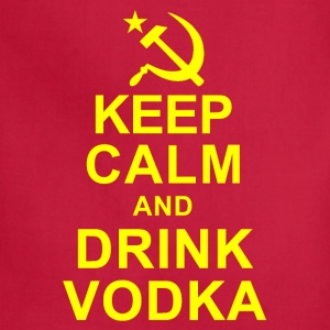 Keep Calm and Drink Vodka T-Shirts - Adjustable Apron