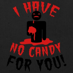 HALLOWEEN I have no candy for you zombie Women's T-Shirts - Eco-Friendly Cotton Tote
