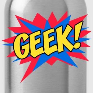 Comic book GEEK - Water Bottle