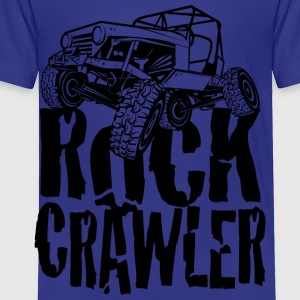 Rock Crawling Jeep Kids' Shirts - Toddler Premium T-Shirt