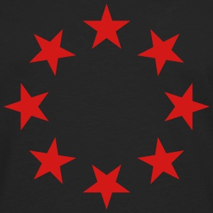 stars in a circle with glitz T-Shirts - Men's Premium Long Sleeve T-Shirt