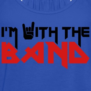 i'm with the Band T-Shirts - Women's Flowy Tank Top by Bella