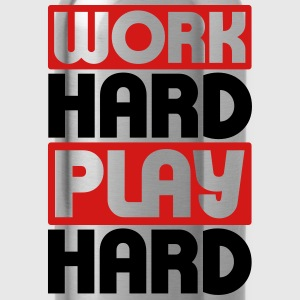 Work Hard Play Hard T-Shirts - Water Bottle