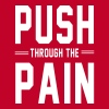 Push Through the Pain Women's T-Shirts - Women's Premium T-Shirt