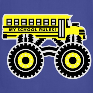 The Monsterous School Bus Kids' Shirts - Adjustable Apron