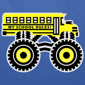 The Monsterous School Bus Kids' Shirts - Tote Bag
