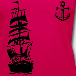 ship T-Shirts - Women's Premium Tank Top