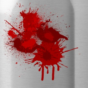 Paint Splatter Shape T-Shirts - Water Bottle