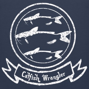 Catfish Wrangler T-Shirts - Men's Premium Tank