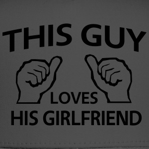 This guy loves his girlfriend T-Shirts - Trucker Cap