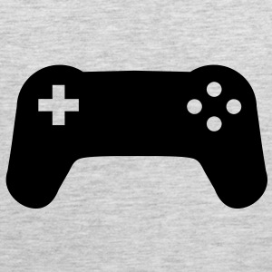Controller console gamer player T-Shirts - Men's Premium Tank