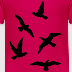 Birds Kids' Shirts - Toddler Premium T-Shirt