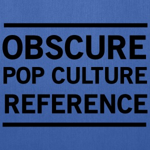 Obscure Pop Culture Reference T-Shirts - Tote Bag