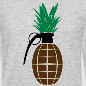 Pineapple Grenade - Men's Premium Long Sleeve T-Shirt