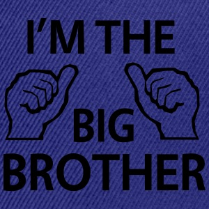 I'm the Big Brother Kids' Shirts - Snap-back Baseball Cap