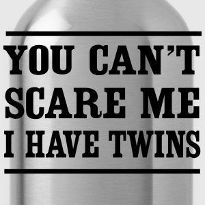 Can't Scare Me I have twins T-Shirts - Water Bottle