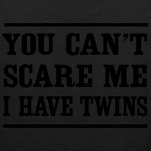 Can't Scare Me I have twins T-Shirts - Men's Premium Tank