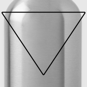 Hipster Triangle T-Shirts - Water Bottle