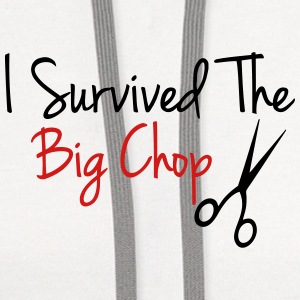 I Survived The Big Chop Women's T-Shirts - Contrast Hoodie