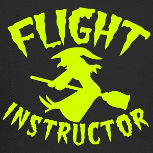 witch on a broomstick flight instructor HALLOWEEN Women's T-Shirts - Trucker Cap