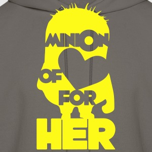 minion of love (boys) T-Shirts - Men's Hoodie