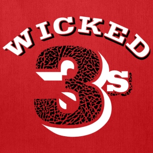 Wicked jordan 3's T-Shirts - Tote Bag
