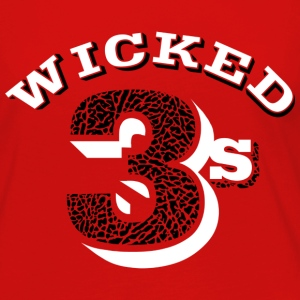 Wicked jordan 3's T-Shirts - Women's Premium Long Sleeve T-Shirt
