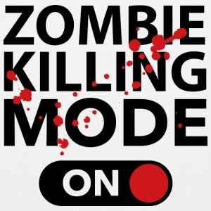 Zombie Killing Mode On - Men's Premium Tank