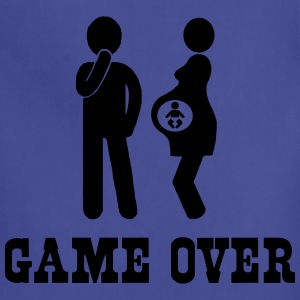 Pregnant. Game Over T-Shirts - Adjustable Apron