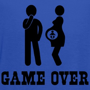Pregnant. Game Over T-Shirts - Women's Flowy Tank Top by Bella