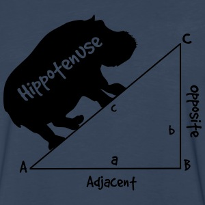 Hippotenuse T-Shirts - Men's Premium Long Sleeve T-Shirt