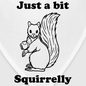 Just a bit Squirrelly Women's T-Shirts - Bandana