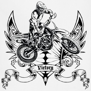 Dirt Bike Victory Trophy T-Shirts - Adjustable Apron