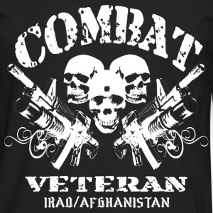 Combat Veteran (Iraq and Afghanistan) - Men's Premium Long Sleeve T-Shirt